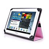 Linsay 10.1-Inch Tablet Case - UniGrip 10 Edition Folio Case - PINK - By Cush Cases