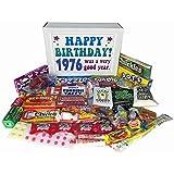 1976 40th Birthday Gift Basket Box Retro Nostalgic Candy From Childhood Jr