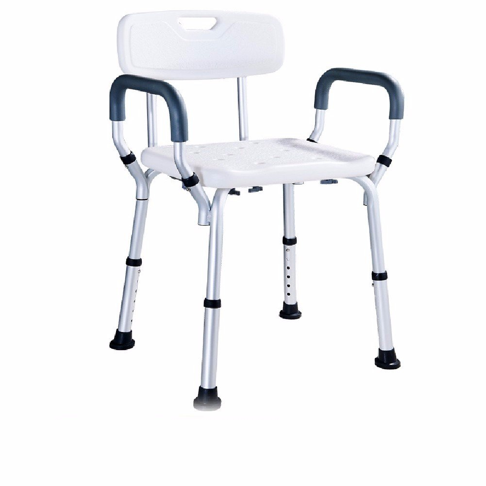 HQLCX Handrail Bathroom Chair For The Elderly