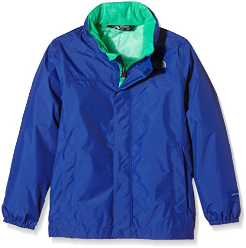 bf3dc940309 The North Face Kids Boy s Resolve Reflective Jacket (Little Kids Big Kids)  Marker Blue LG (14-16 Big Kids) - Buy Online in UAE.