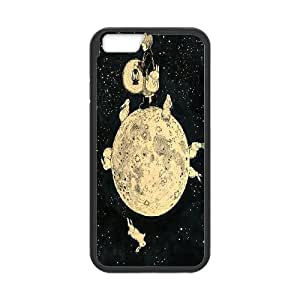 """UNI-BEE PHONE CASE For Apple Iphone 6,4.7"""" screen Cases -Bright Moon-CASE-STYLE 5"""