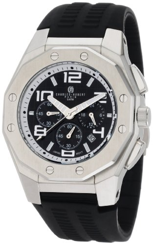 Charles-Hubert, Paris Men's 3785 Premium Collection Stainless Steel Chronograph Watch