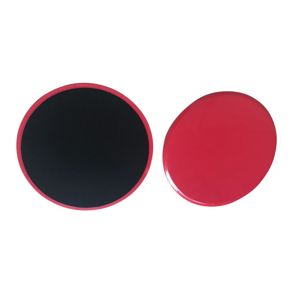 Home /& Total Body Workouts Tile Ultimate Core Trainer,for Gym Vinyl or Hardwood Floors #81204 Vinyl or Hardwood Floors #81204 Red Triangle allow for use on Carpet Beststar 2 x Dual Sided Gliding Discs Core Sliders