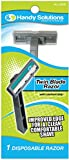 Handy Solutions 1-piece Men's Twin Blade Razor 288 pcs sku# 1869509MA