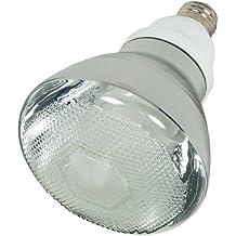 Satco S7274 23-Watt Medium Base BR38 Reflector, 2700K, 120V, Equivalent to 85-Watt Incandescent Lamp with U.L. Wet Location Listed