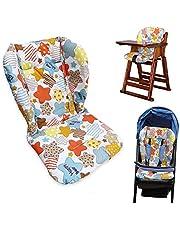 High Chair Cushion,High Chair Pad,Baby High Chair Seat Cushion Liner Mat Padding Cover Protection Pad Unisex