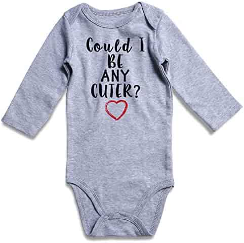 Funnycokid Funny Infant Romper Jumpsuit Baby Layette Bodysuit Kids' One-Piece