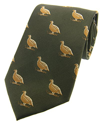 Green Grouse Country Silk Woven Tie Soprano fPTxCwdwq