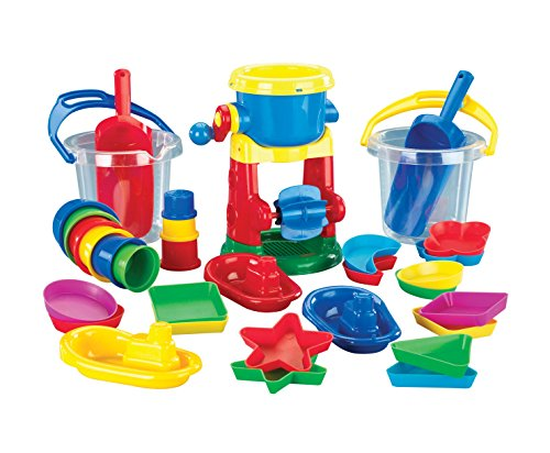 Childcraft Sand and Water Play Kit, Assorted Colors, 35 Pieces by Childcraft (Image #1)