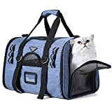 TOURIT Soft Sided Cat Carriers for Medium Cats Sturdy Pet Carrier with 2 Fleece Pads for Small Dogs Kitties For Sale