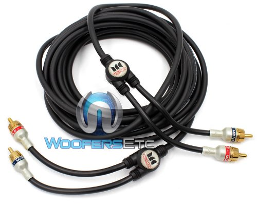 MONSTER Cable Car Audio Interconnect Cable 5 m. Pair - 16.40 ft. (2 Channel) (IMXLN 2C-5M)