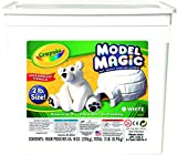 : Crayola; Model Magic; White Modeling Compound; Art Tools; 2 lb. Resealable Bucket; Perfect For Slime Supplies Kit