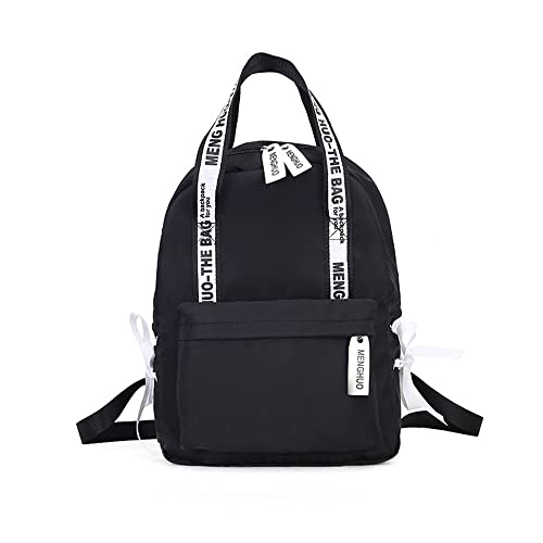 Amazon.com: Preppy School Bags For Teenagers Female Nylon Travel Bags Girls Bowknot Backpack Mochilas: Shoes