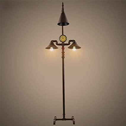Modernas lamparas de pie Lámpara de pie, Tubo de Agua Retro ...