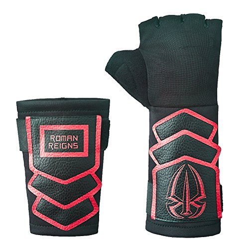 Roman Reigns WWE Superman Punch Glove Wristband Set -Red by Roman Reigns