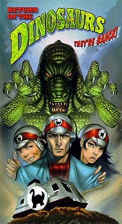 Возвращение динозавров / Return of the Dinosaurs (Ларри Смит, Акира Тцубурая, Кочии Такано) [1983, фантастика, VHSRip-AVC] AVO