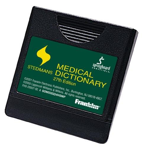 Franklin SDM-500224HSMP 2002 Stedman's Medical Dictionary Springboard Module