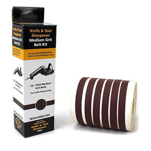 Work Sharp P220 Ceramic Oxide Abrasive ()