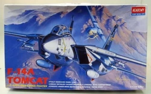 Academy 1/72 U.S.NAVY SWING-WING FIGHTER F-14A TOMCAT FA061/ 12471 /item# G4W8B-48Q29593