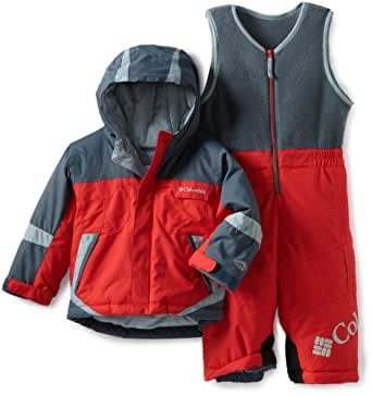 Columbia Little Boys' Buga Set, Bright Red/Mystery, 4T