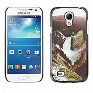 For SAMSUNG Galaxy S4 mini VERSION! / i9190 / i9192 Case , River Mountain Nature Forest - Diseño Patrón Teléfono Caso Cubierta Case Bumper Duro Protección Case Cover Funda