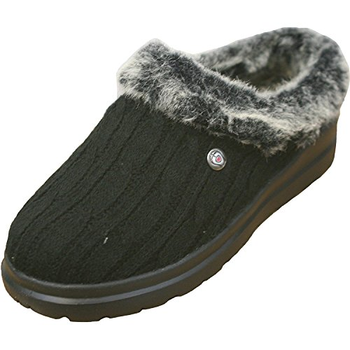 Skechers Bobs Cherish Bunny Hill Womens Slipper Clogs