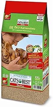 Cat S Best Oko Original Clumping Litter 40l 30 10lt Amazon Co Uk Pet Supplies