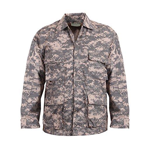 (Rothco BDU Shirt - ACU Digital Camo, Large)