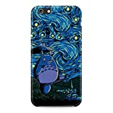 My Neighbor Totoro Van Gogh Painting Hard Plastic Snap-On Case Skin Cover For iPhone 6 / iPhone 6s
