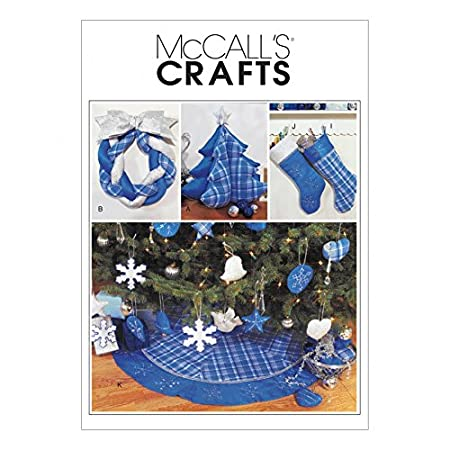 Mccalls Sewing Pattern 3777 Crafts For Christmas Sizes One Size