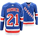 c058dacd9 Brett Howden New York Rangers Autographed Blue Adidas Authentic Jersey with