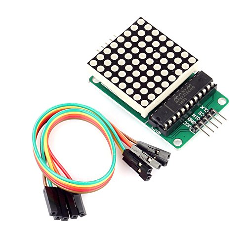 Amazon.com - SainSmart MAX7219 Red LED Dot Matrix Display Module