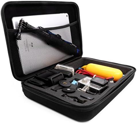 MyGadget Tragetasche [Größe L] Transport Schutz Tasche für Actionkamera & Zubehör - Portable Koffer Case für z.B. GoPro Hero Black 7/8 6 5 4 3+ 3 / Xiaomi Yi 4K