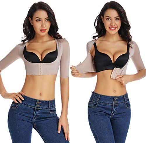 Joyshaper Upper Arm Shapers for Women Compression Sleeves Shapewear Crop Top Slimming Arm Slimmer Vest