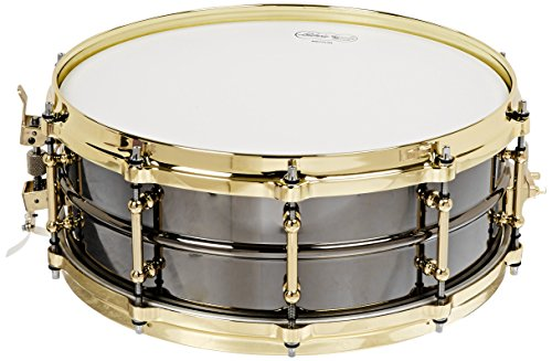 Beauty Snare Ludwig Black - Ludwig LB416BT Black Beauty Brass on Brass 5 x 14 Inches Snare Drum