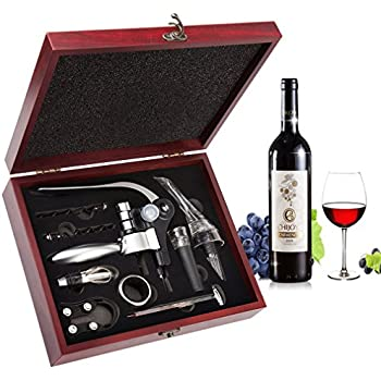 Amazon Com Wine Opener Set Smaier Corkscrew Wine