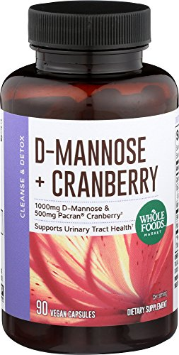 Whole Foods Market, D-Mannose with Cranberry, 90 ct