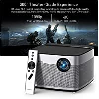 XGIMI H1 Home Projector 1080P also support 2K 4K projector 900 Ansi Lumens Brightness andriod 5.1.1 with build-in speaker projector
