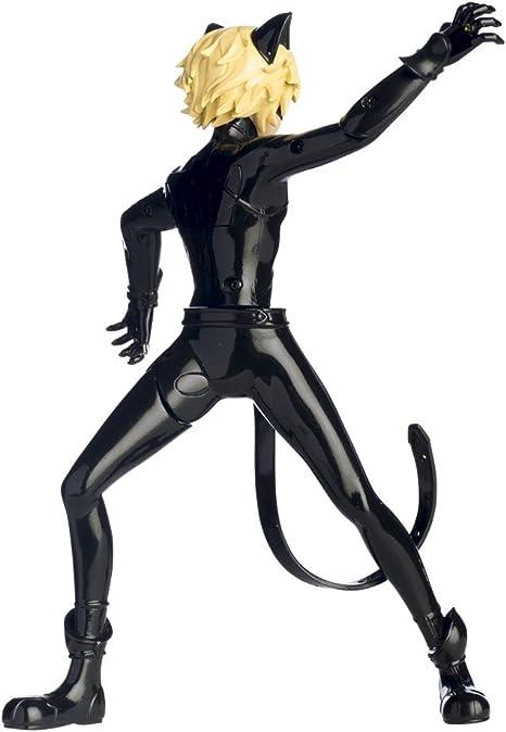 Bandai 39732 - Figura articulada Cat Noir en acción, 19 cm: Amazon ...