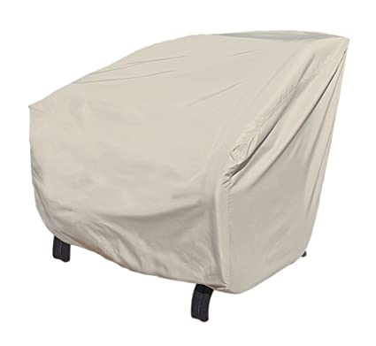 Treasure Garden X Large Club Or Lounge Chair With Elastic   Protective  Furniture Covers