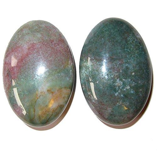 SatinCrystals Bloodstone Polished Stone 2.3