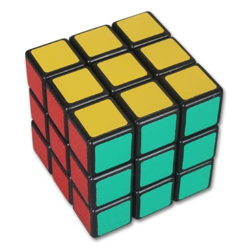 Three-layer Magic Puzzle 3x3x3 Speed Magic Cube, Black 57mm - Accent Table Series