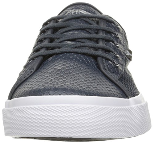 Recreación Creativa Para Hombre Kaplan Fashion Sneaker Navy Black Snake Mesh