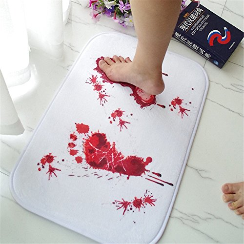 AOOK HOMEMADE Bloody Shower Mat Bath Mat 23.5