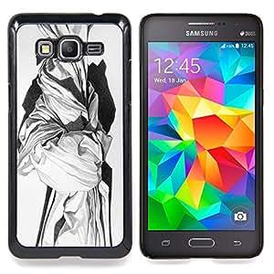 /Skull Market/ - Marble Sculpture White Black Art History For Samsung Galaxy Grand Prime G530H G5308 - Mano cubierta de la caja pintada de encargo de lujo -