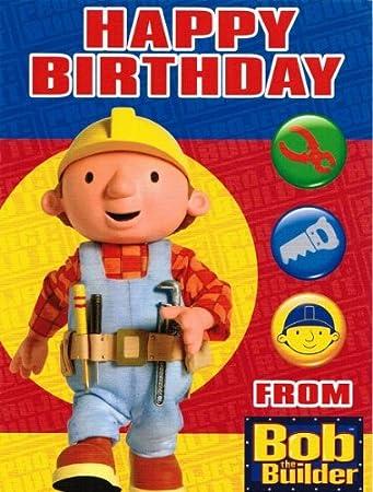 Bob der Baumeister   Geburtstagskarte: Amazon.de: Küche & Haushalt