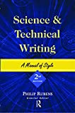 Science and Technical Writing: A Manual of Style (Routledge Study Guides)