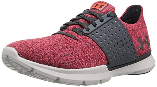 Under Armour Women's Speedform Slingwrap, Marathon Red/Glacier Gray/Stealth Gray, 11 B(M) US