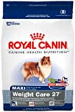 Royal Canin Dry Dog Food, Maxi Weight Care 27 Formula, 30-Pound Bag For Sale