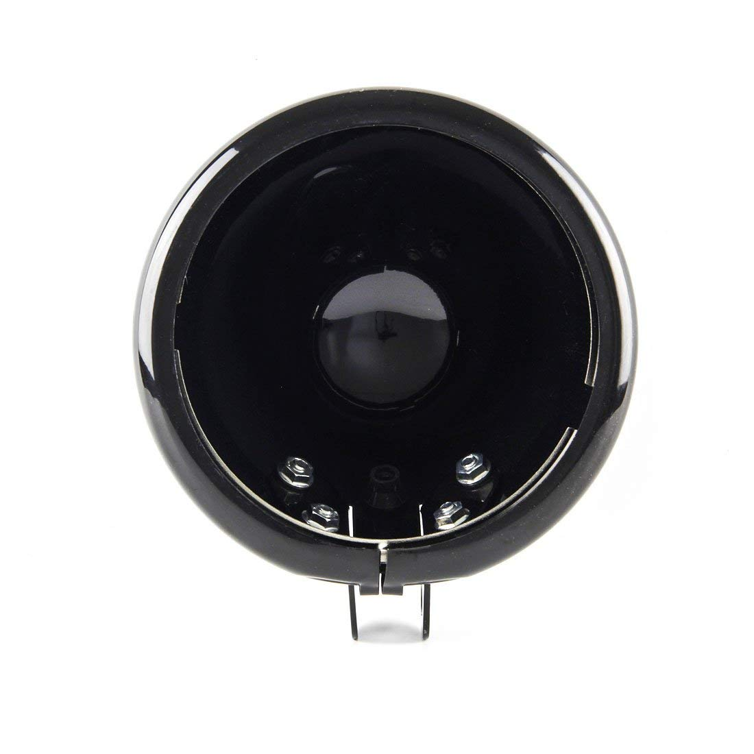 B black 5 3//4 5.75 Inch Led headlights Housing Bracket bucket for Harley Davidson motorcycle